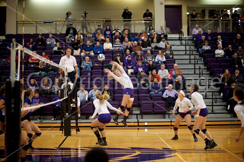 Bluffton Volleyball 103118 HCAC Hanover