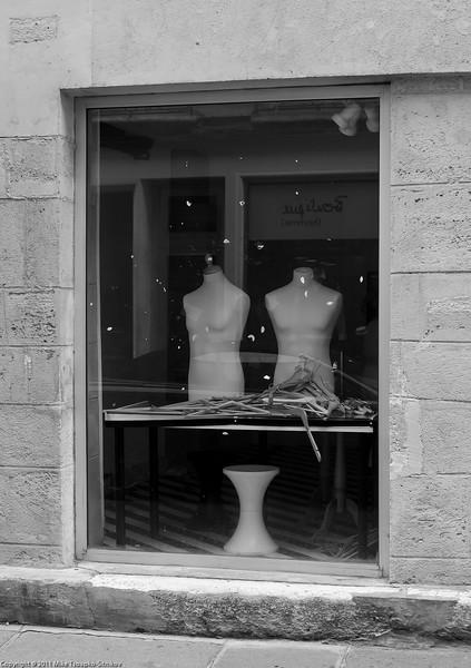 Paris. A shop window in Marais