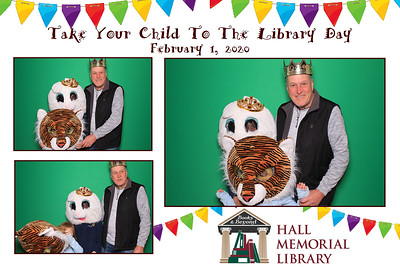 2020-02-01 Hall Memorial Library Photo Booth Pics