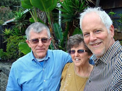 Carol, Cy and John in Malibu