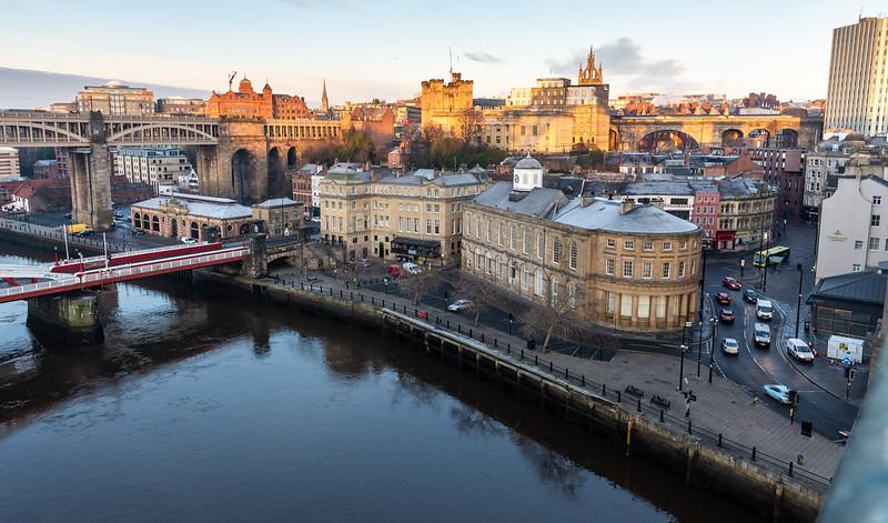Newcastle cityscape