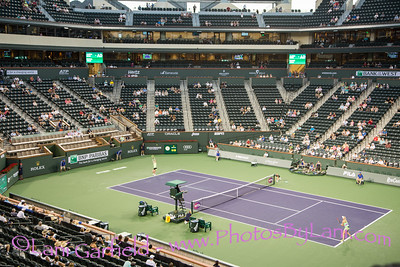 BNP Paribas Open Tennis with McCallum Theater 3/9/17 by Lani and JP