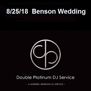 8/25/18 Benson Wedding