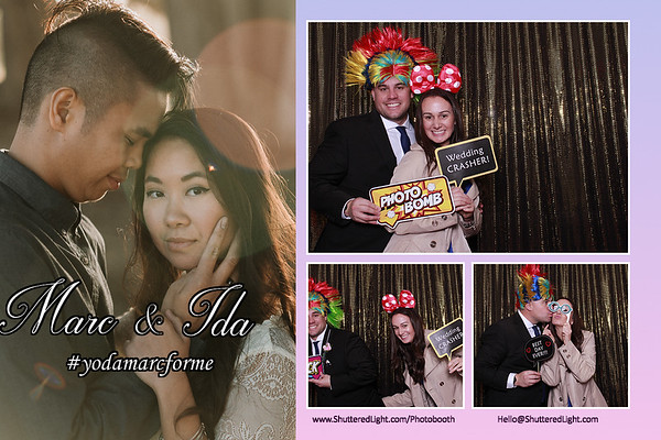 Marc + Ida Wedding Photo Booth