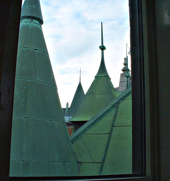 Rooflines; Chateau Frontenac; Quebec City, CA