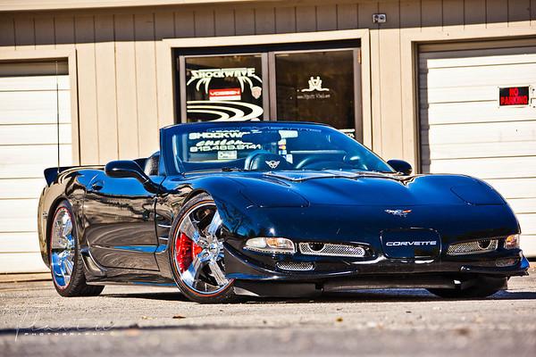 Shockwave Black Corvette