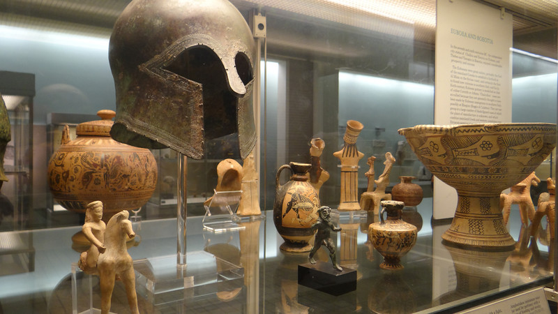 Grecian artifacts, British Museum