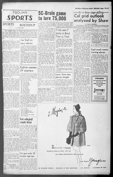 Daily Trojan, Vol. 36, No. 203, September 19, 1945
