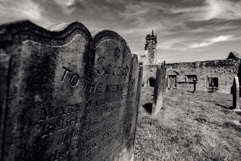 Wharram Percy - Medieval Deserted Village.