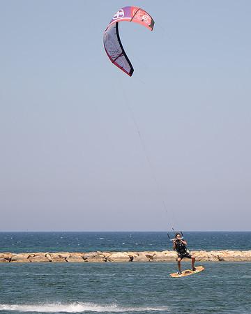 Kiteboarding - Denia, Spain