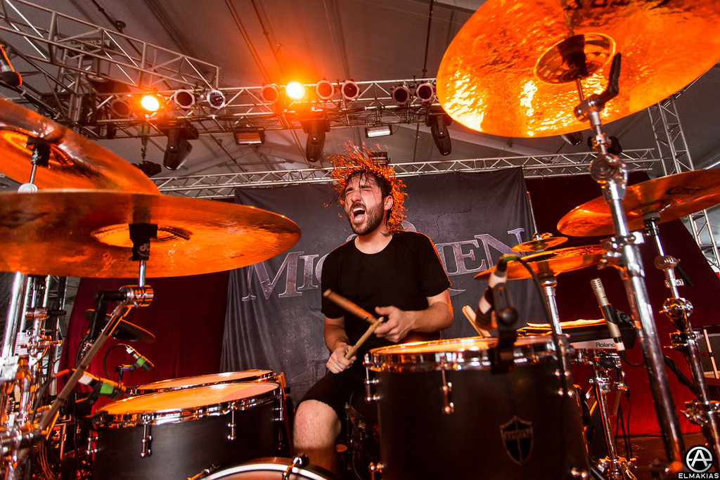 Tino on drums - Soundwave Festival 2013