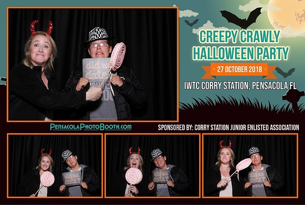 Corry Station Halloween Party 10-27-2018