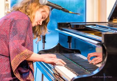 Inger Nordvik concert at Nyksund Brygge 17.07.2020