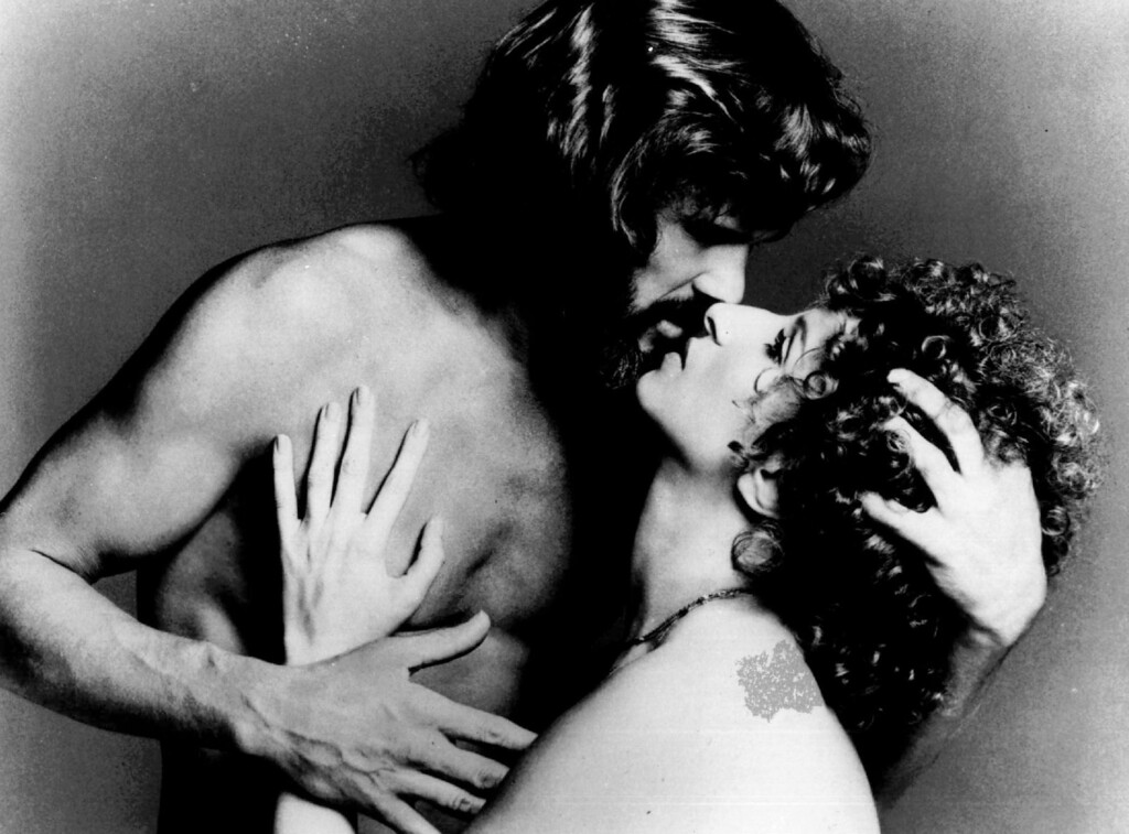". Kris Kristofferson and Barbra Streisand perform in a scene from the 1977 film ""A Star Is Born.\""  (AP photo/ho)"