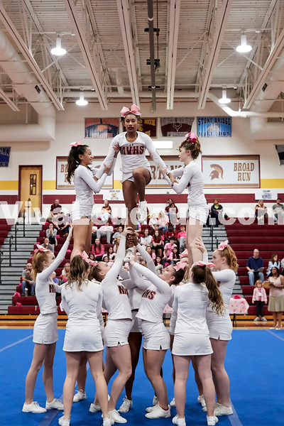 Cheer: Mountain View JV @ BRHS 10.14.2017 (by Fred Ingham)