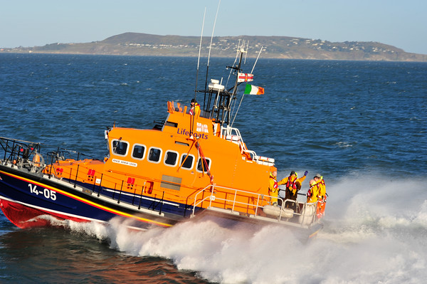 RNLI Dun Laoghaire - Christmas Eve Commemoration 2014