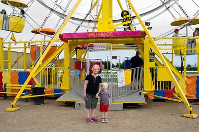2013-06-22 Carol & Russ take Will to the Fair