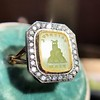 'Faithful & Firm' Yellow Chalcedony Ring, by Seal & Scribe 31