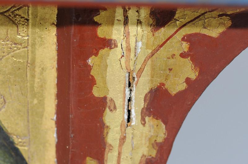 Vorzustand: Anna Altar, Predella, Vorderseite rechts AAF_0978_27-10-2011