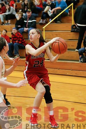12-22-15 BHS Girls JV Basketball vs Lincoln