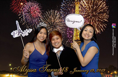 Alyssa Turns 18! _Jan. 2019