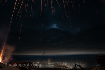 Pikes Peak New Year's Eve 12-31-20