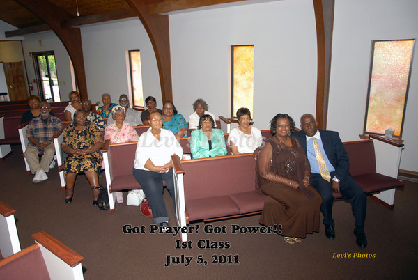 Got Prayer? Got Power!! Graduation 2011