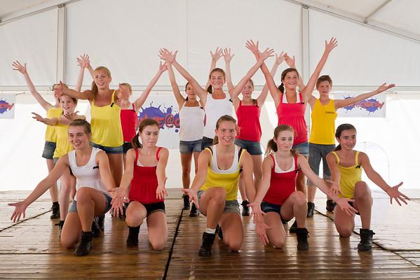 Lekker zomeren met Dance@cademy, Middelkerke 2012