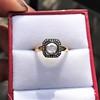 .53ctw Rose Cut Halo Ring, by Single Stone 32