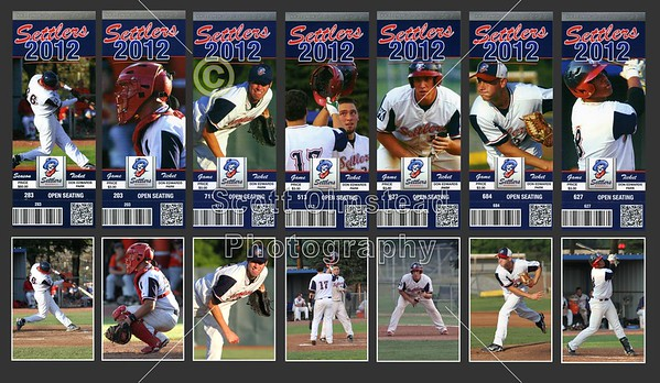 2012 Licking County Settlers Tickets Collector Series
