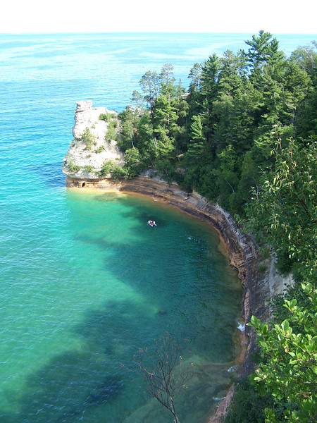 View of Miners Castle