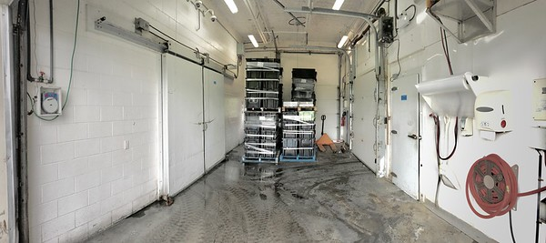 8C. South  Bldg. Freezer and Cooler