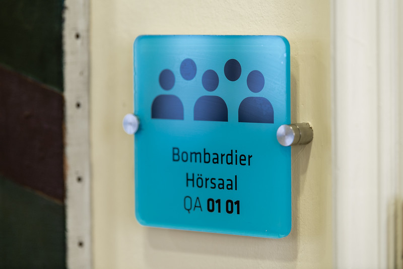 Bombardier Hörsaaleröffnung TU Wien
