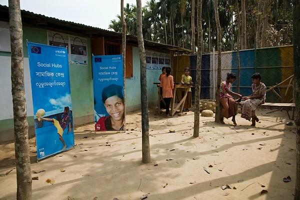 UNICEF-EU IcSP Social Hubs -Cox'sBazar-March-2020