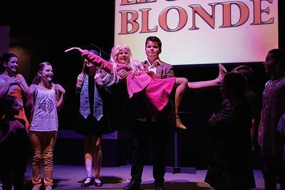 Legally Blonde: Delta Nu Cast