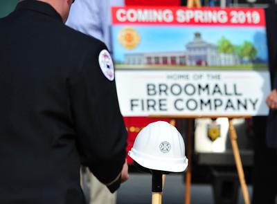 Groundbreaking Ceremony - Broomall Fire Company