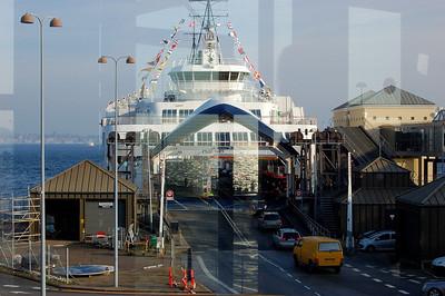 REFLECTION 2 - Helsingor Port, Denmark.