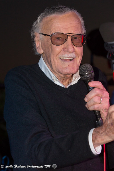 Stan Lee Party Celebration with Legion M