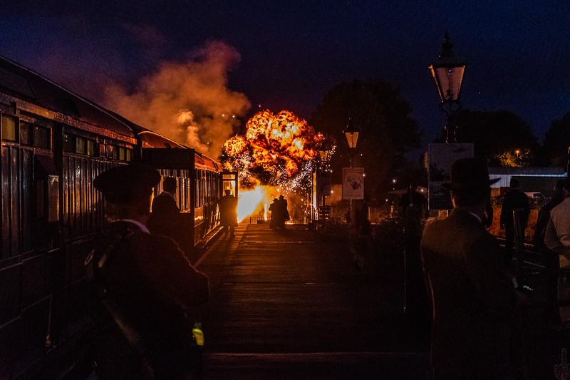 Explosions - 1940s weekend, Kidderminster