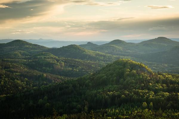 Lusatian Mountains Landscapes