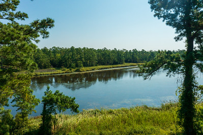 Large waterfront acreage in Oriental