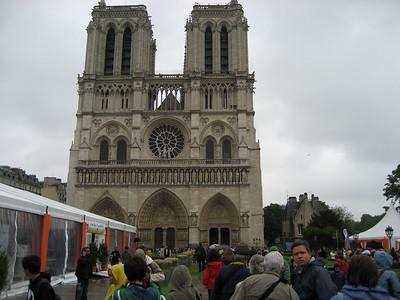 Paris - Cathédrale Notre Dame