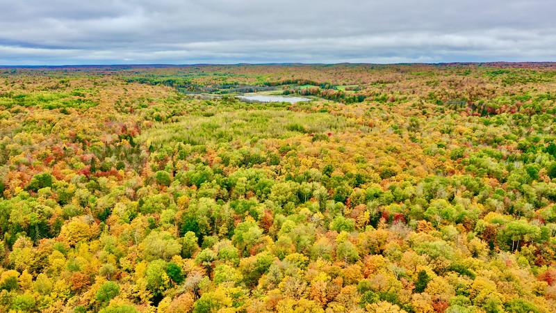 Seitz Lake from above Lake Three