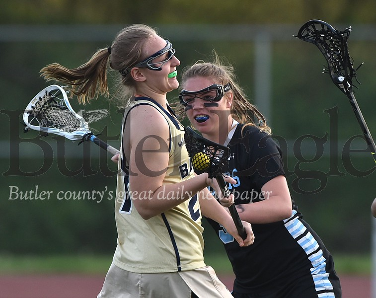 86411 Girls Lacrosse Butler vs Seneca Valley at Art Bernardi Stadium