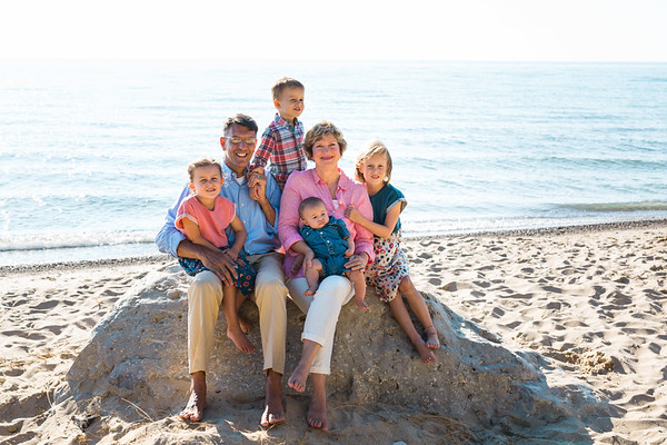 South Haven Beach Extended Family Vacation Portraits Fortosis