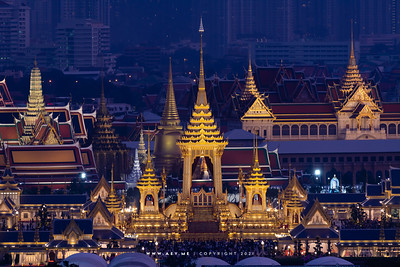 The Royal Cremation for King Rama IX