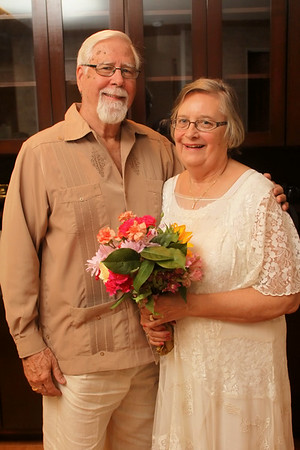 Peggy & Charlie Wedding Vow Renwal