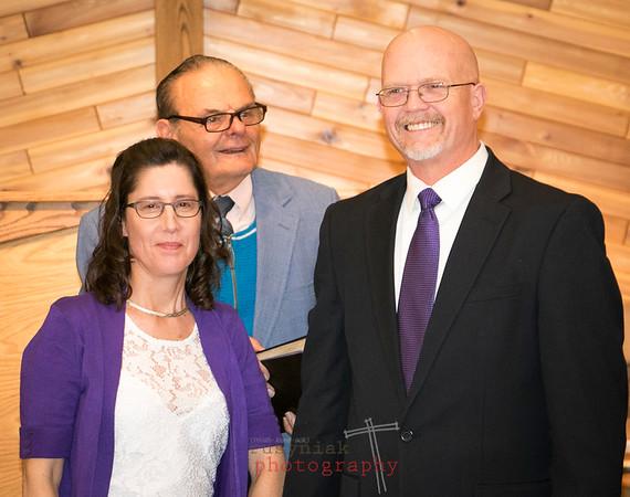 Jeff & Eileen Renew Wedding Vows