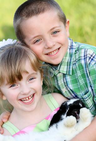 Shane & Brianna Easter Mini