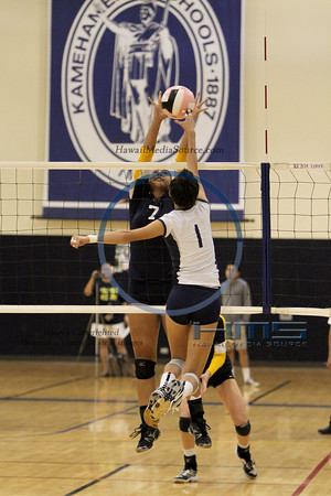 Punahou Girls Volleyball - KS 10-24-13